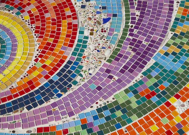 Мозаика из плитки